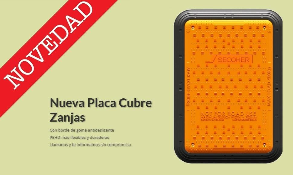 NOVEDAD: PLACAS CUBRE ZANJAS